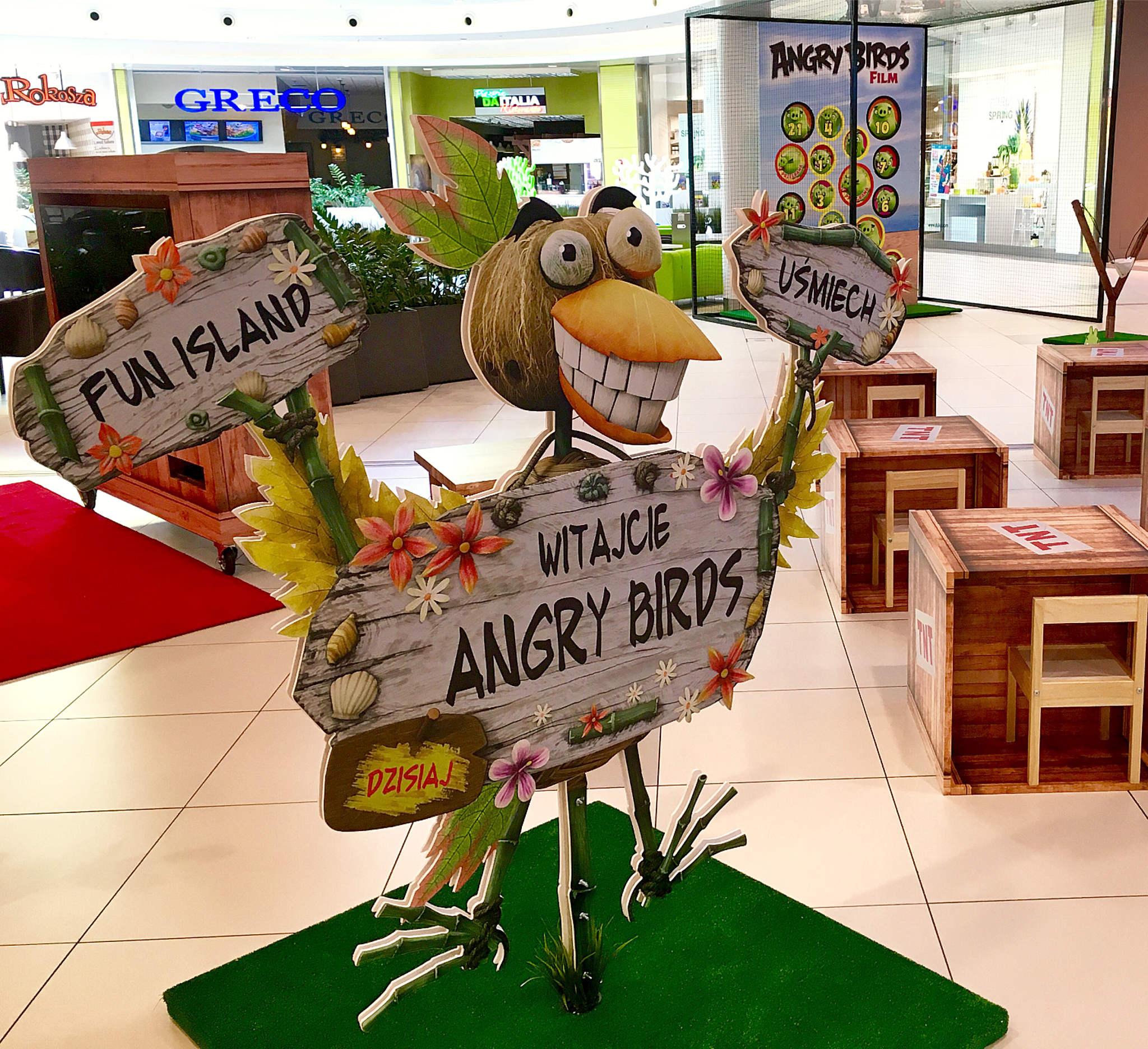 Angry Birds Fun Island