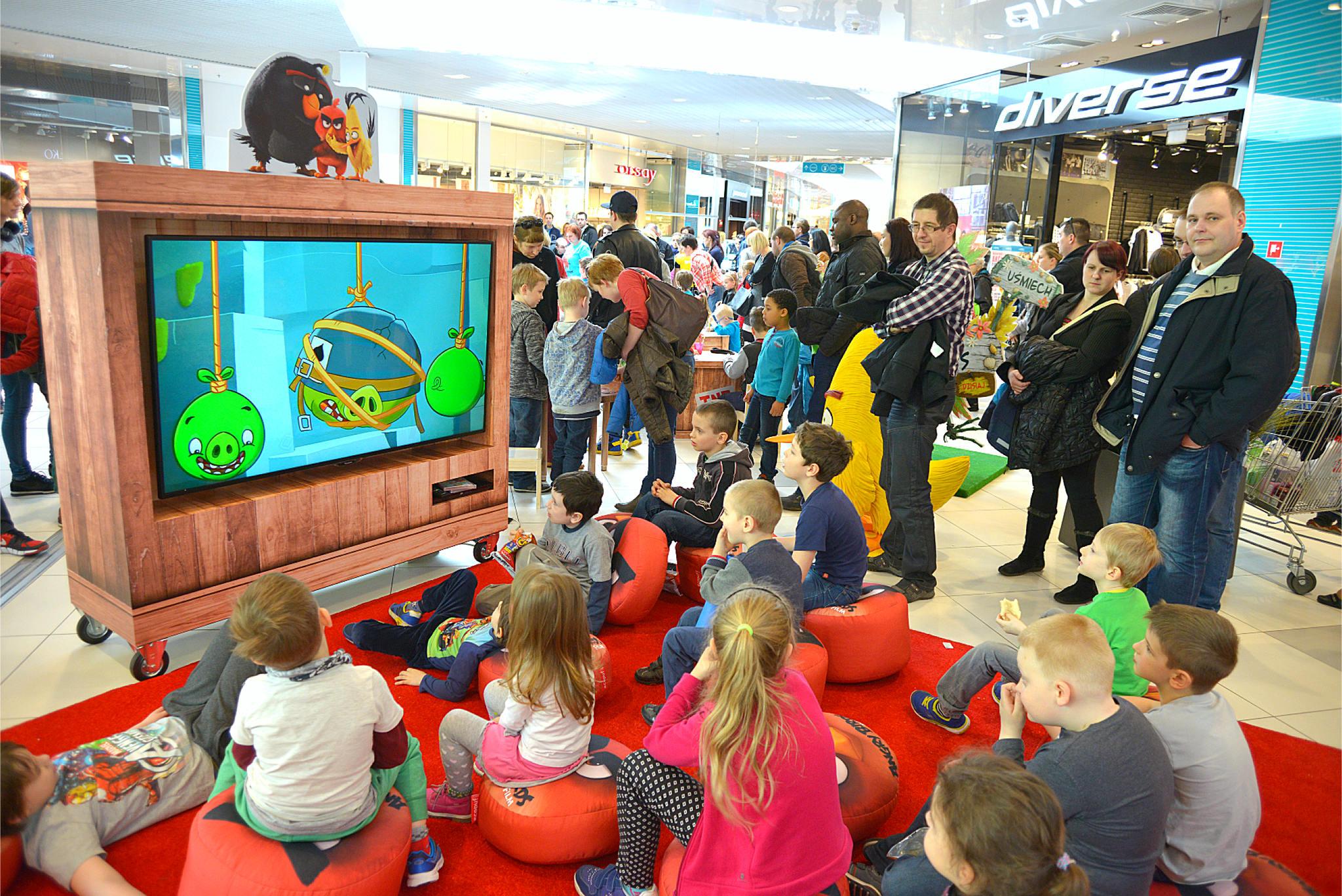 Kino Angry Birds