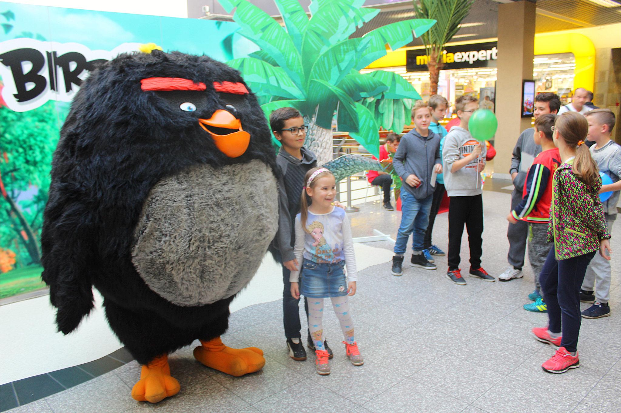 Ptak bomba z Angry Birds
